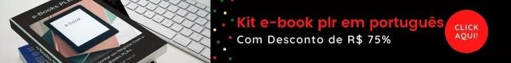 Kit e-book plr em português