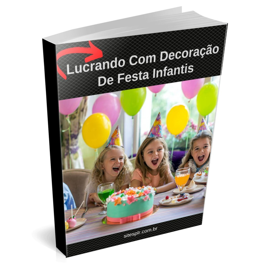 Lucrando com decoração de festa infantis