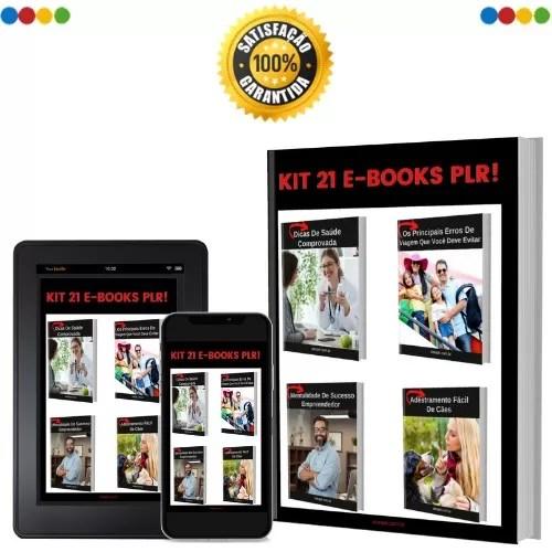 Kit 21 e-books plrs em português
