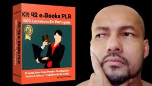 Read more about the article Kit 42 e-Books PLR 100% Lucrativos Em Português