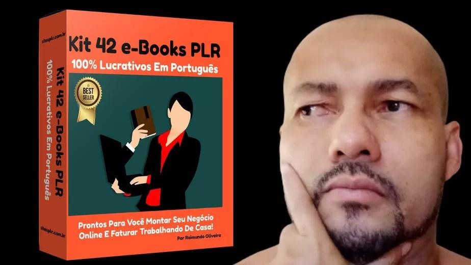 Kit 42 e-Books PLR 100% Lucrativos Em Português
