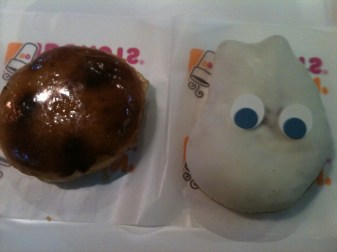Dunkin' Donuts. I have such fond memories of eating these when I was living with my family in Seoul when I was 6.