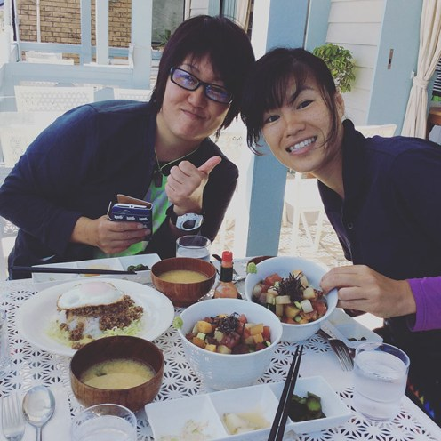 My new buddies Ono and Chieko! I'm so happy to have met them!