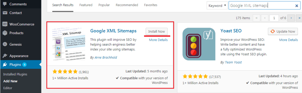 How to Add Sitemaps to WordPress Website - Installing Google XML Sitemaps