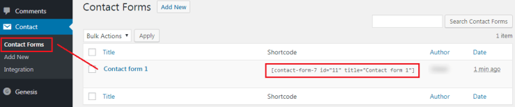 How to Add a Contact form to WordPress - Contact Forms