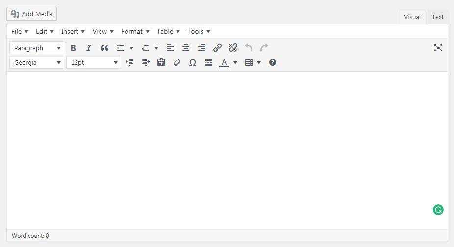 How to Enhance Your WordPress Visual Editor - TinyMCE Visual Editor
