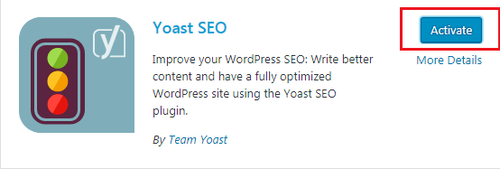 How to do WordPress SEO technically (OnPage Guide) Yoast Activation