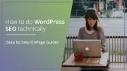 How to do WordPress SEO technically (OnPage Guide)