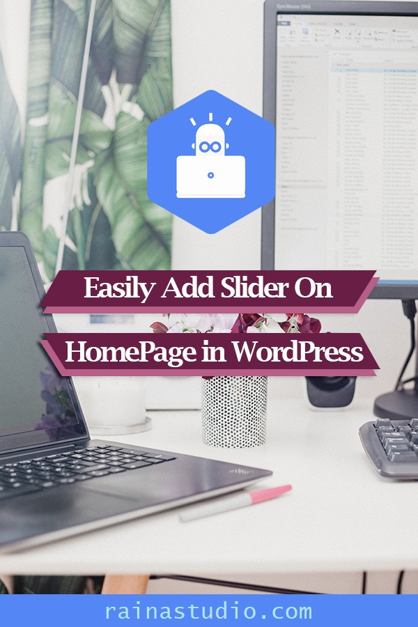 Easily Add Slider On Home Page in WordPress