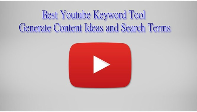 Best Youtube Keyword Tool