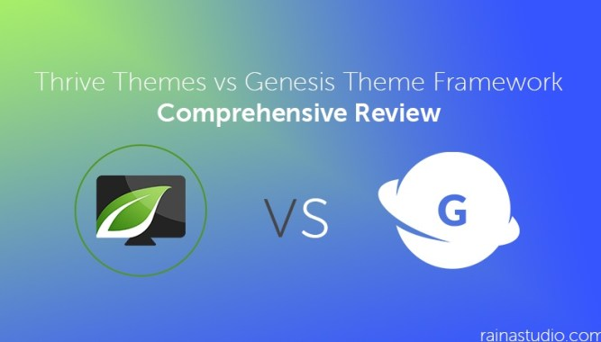 Thrive Themes vs Genesis Theme Framework Comprehensive Review