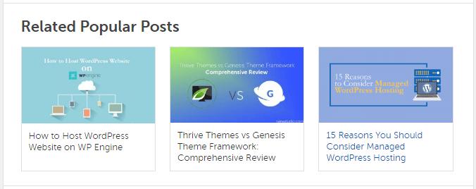 Custom Related Posts in Genesis