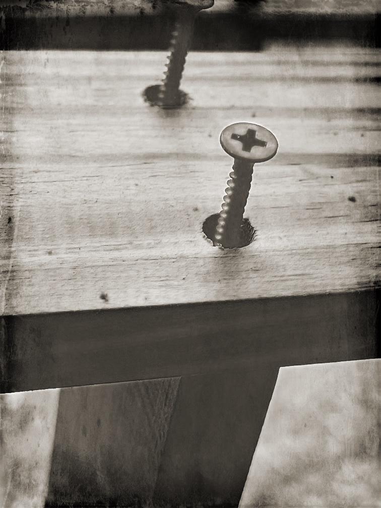 DIY Rustic Farmhouse Ladder
