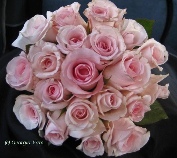 Bridesmaid roses