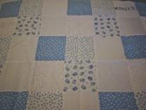 blue block patchwork