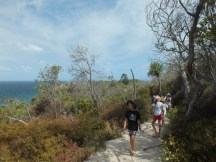 Walking from Page's hut to the Lighthouse