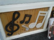A shopfront getting it's musicness on