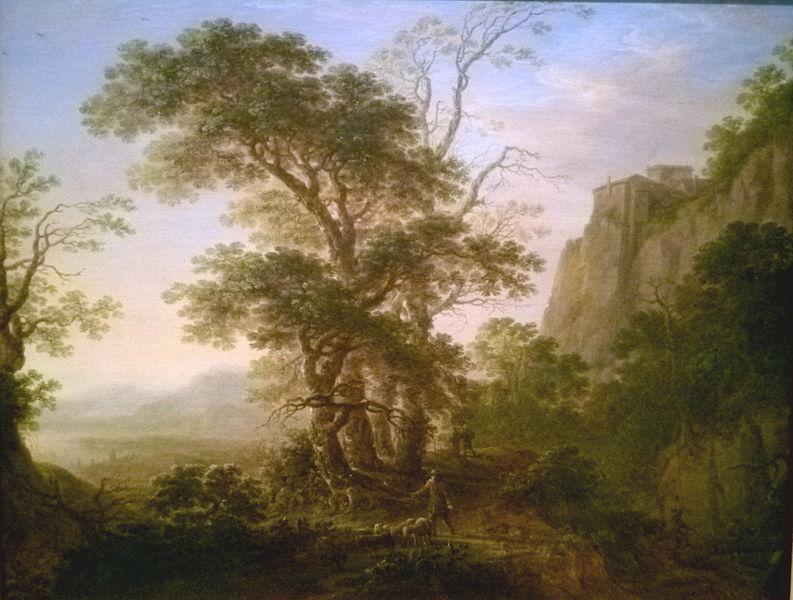 Herman_Saftleven_-_Italian_mountain_landscape