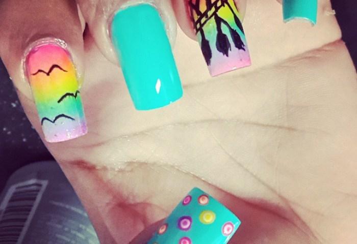 Uñas Nails Nailspty Uñaspty Esmalte Pintura Nailpolish Diseño