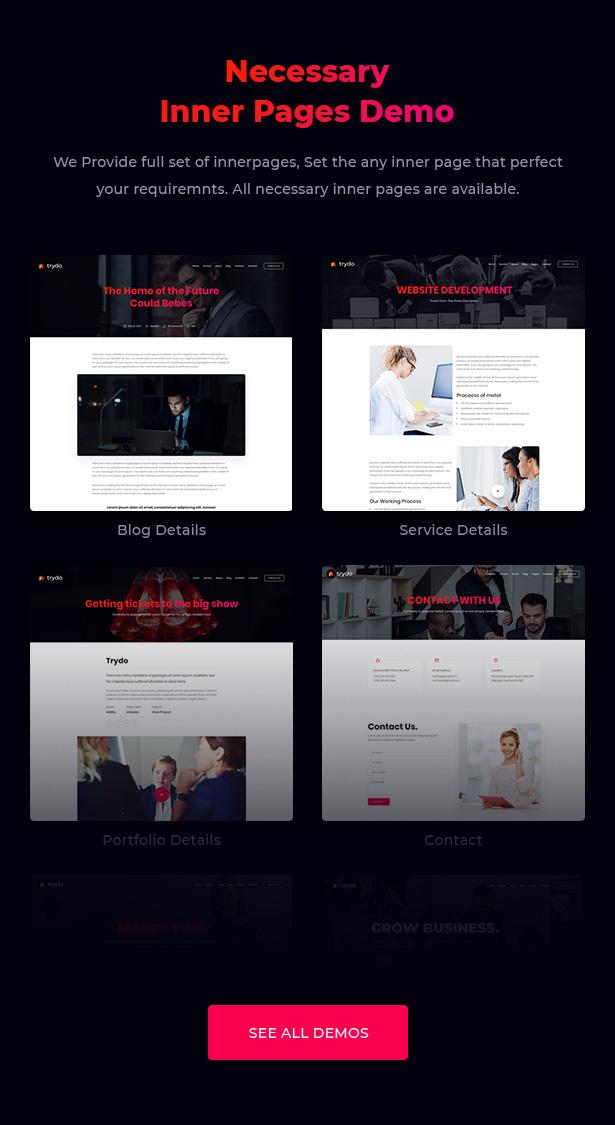 Trydo - Creative Agency & Portfolio WordPress Theme - 7