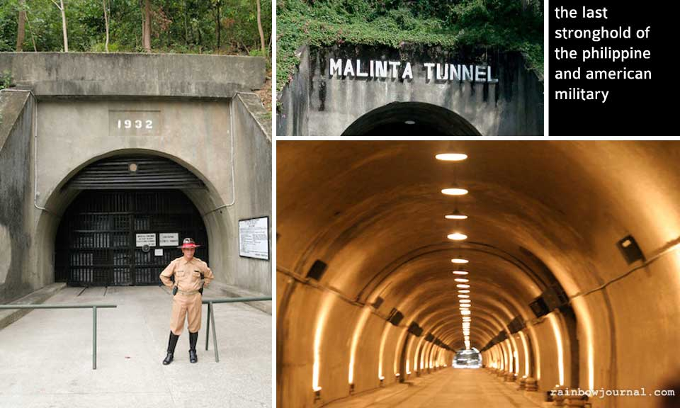 Malinta tunnel at Corregidor Island