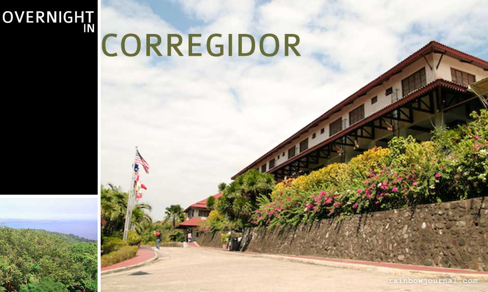 Overnight stay at Corregidor Inn