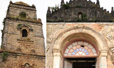 Paoay church, together with 3 other churches, share the distinction of being inscribed as UNESCO World Heritage Sites