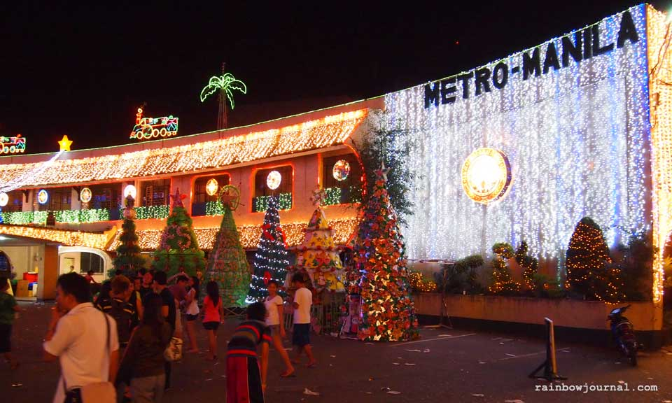 Christmas tree competition at Mandaluyong City