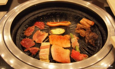 The highlight for many Sambo Kojin diners, the grill