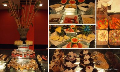 Sambo Kojin's dessert station