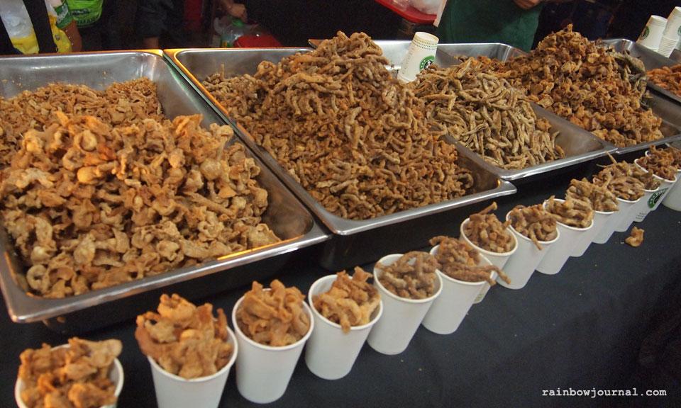 Food choices at Fiesta Bahia at SM Mall of Asia (MOA)