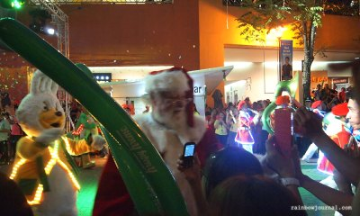 The SM Mall of Asia's (MOA) Grand Festival of Lights Parade