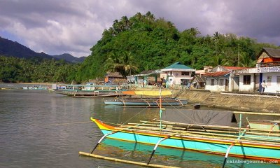 Picturesque and clean Guijalo port in Caramoan