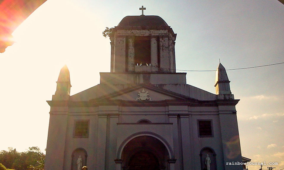 St. Gregory's facade at Legazpi City, Naga
