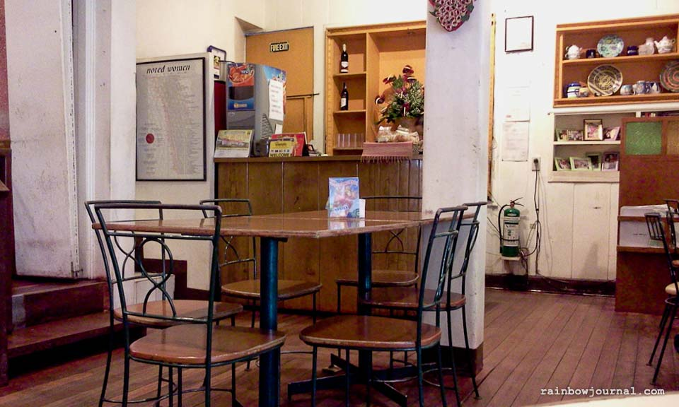 Charming interiors of Small Talk Cafe in Legazpi City