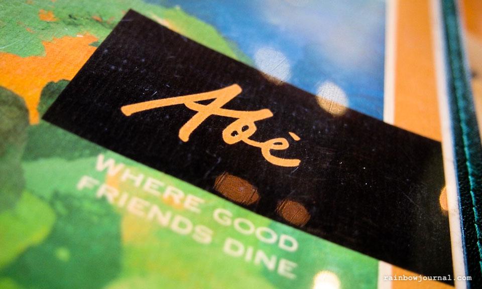 Abé Restaurant Review: Good Food for Good Friends at Abé