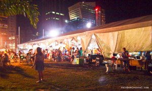 Mercato Centrale tent at the Fort Bonifacio Global City (BGC), Taguig