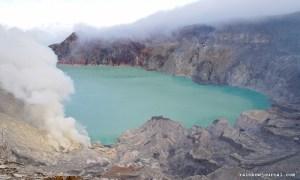 Kawah Ijen in Indonesia