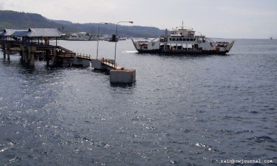 Ketapang Port in Banyuwangi, Indonesia - On our way to Bali