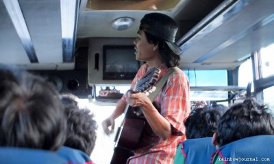 After the ferry crossing, bus to Denpasar in Bali