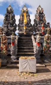 Just a short distance from the restaurant where we had lunch is Pura Ulun Danu Batur