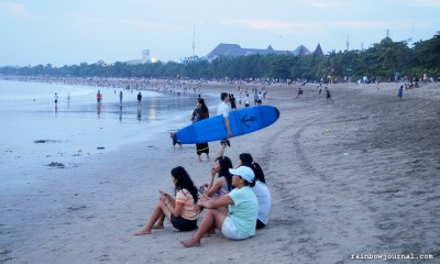 Kuta Beach Bali: No Money, No Problem
