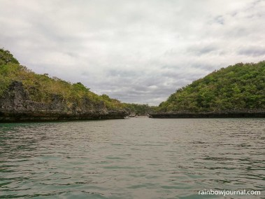 Approaching Children's Island, Hundred Islands National Park