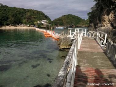 Bridge connecting Virgin Island to Governor's Island
