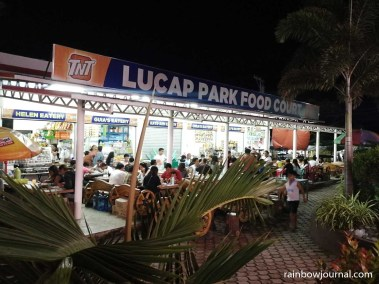 Lucap Park Food Court offers affordable home cooked meals