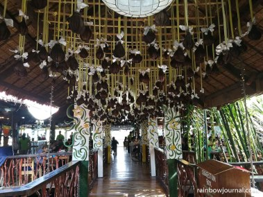 Ciudad Elmina restaurant hallway