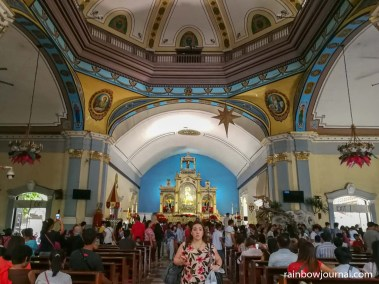 Nave of Our Lady of Manaoag Church in Pangasinan