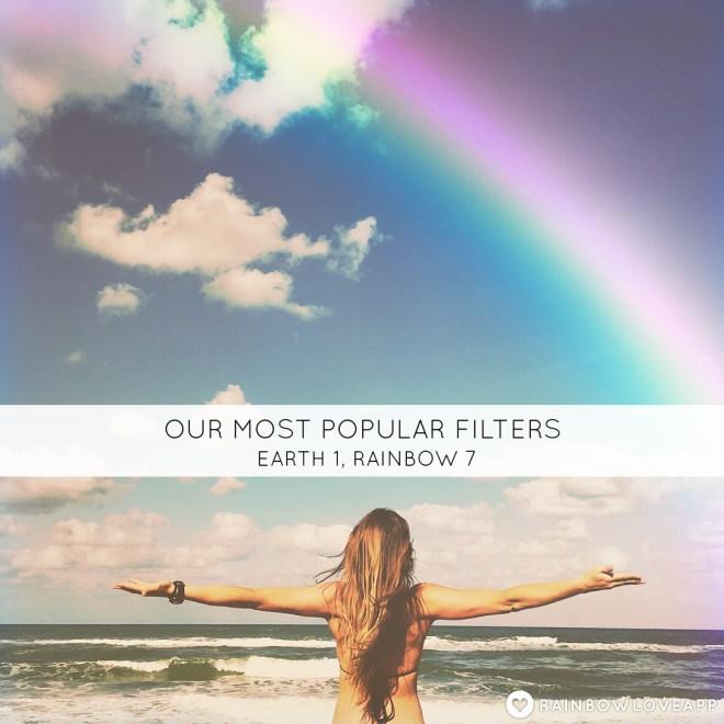 Rainbow-Love-App-Best-Photo-Editing-Most-Popular-Filters-Earth-1-Filter-Rainbow-7-Filter