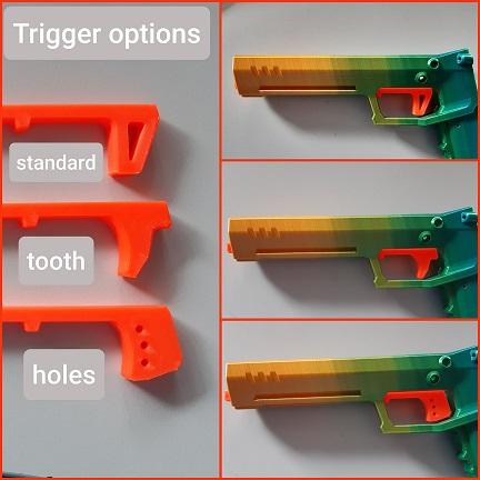 Gecko blaster trigger options