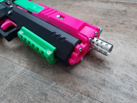 Gecko blaster front